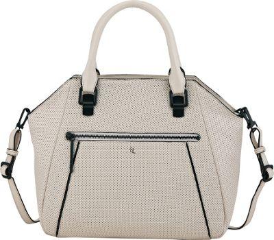 Elliott Lucca Faro City Satchel Linen Perf - Elliott Lucca Designer Handbags