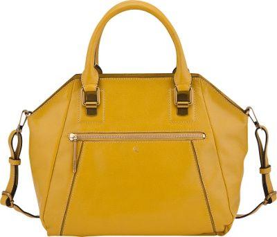 Elliott Lucca Faro City Satchel Curry - Elliott Lucca Designer Handbags