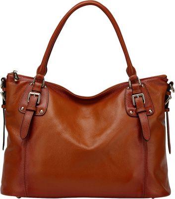Vicenzo Leather Ryder Leather Shoulder Tote Handbag ...