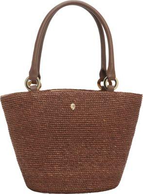 Helen Kaminski Kiri Small Tote Sepia/Copper/Lava - Helen Kaminski Designer Handbags