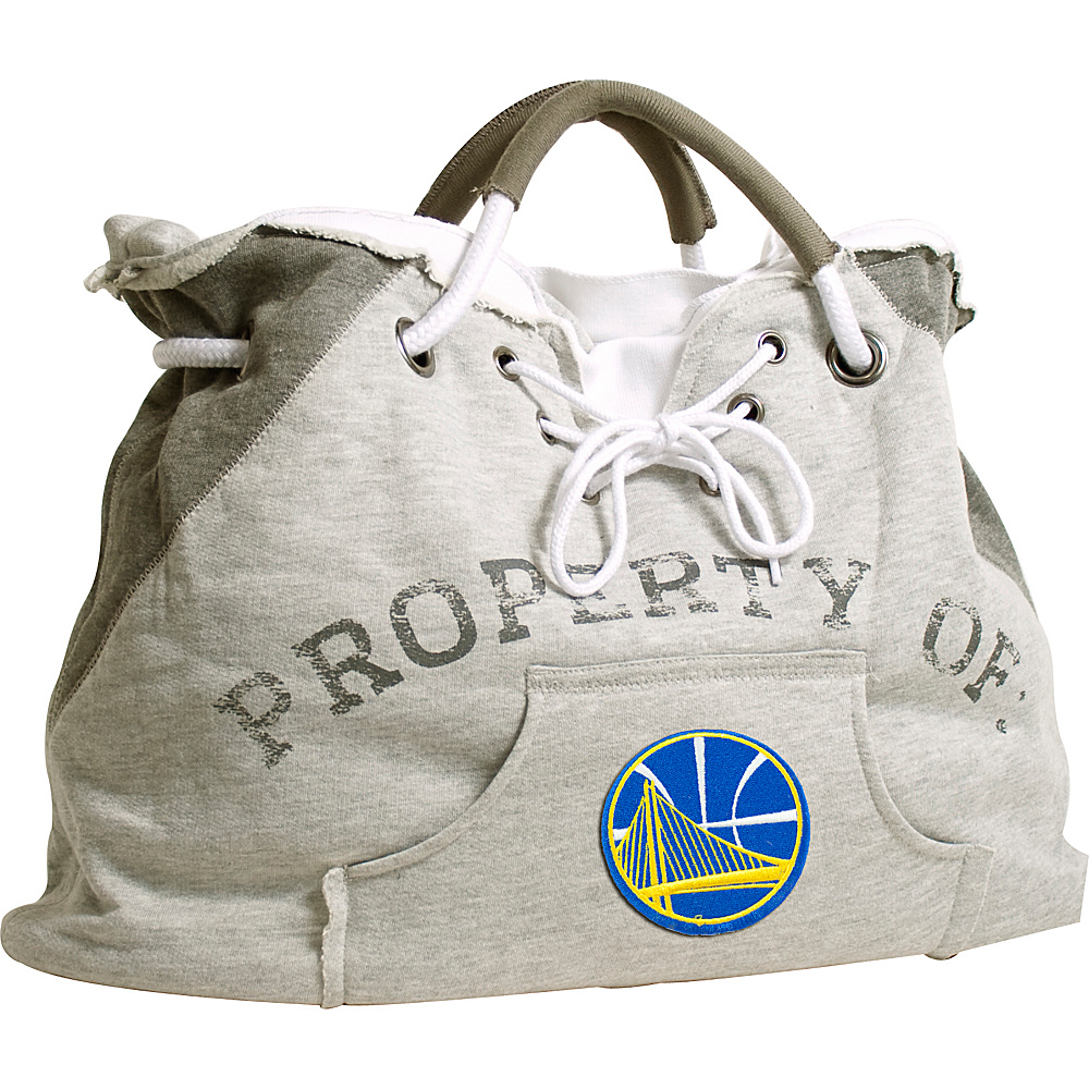 Littlearth Hoodie Tote - NBA Teams Golden State Warriors - Littlearth Fabric Handbags - Handbags, Fabric Handbags
