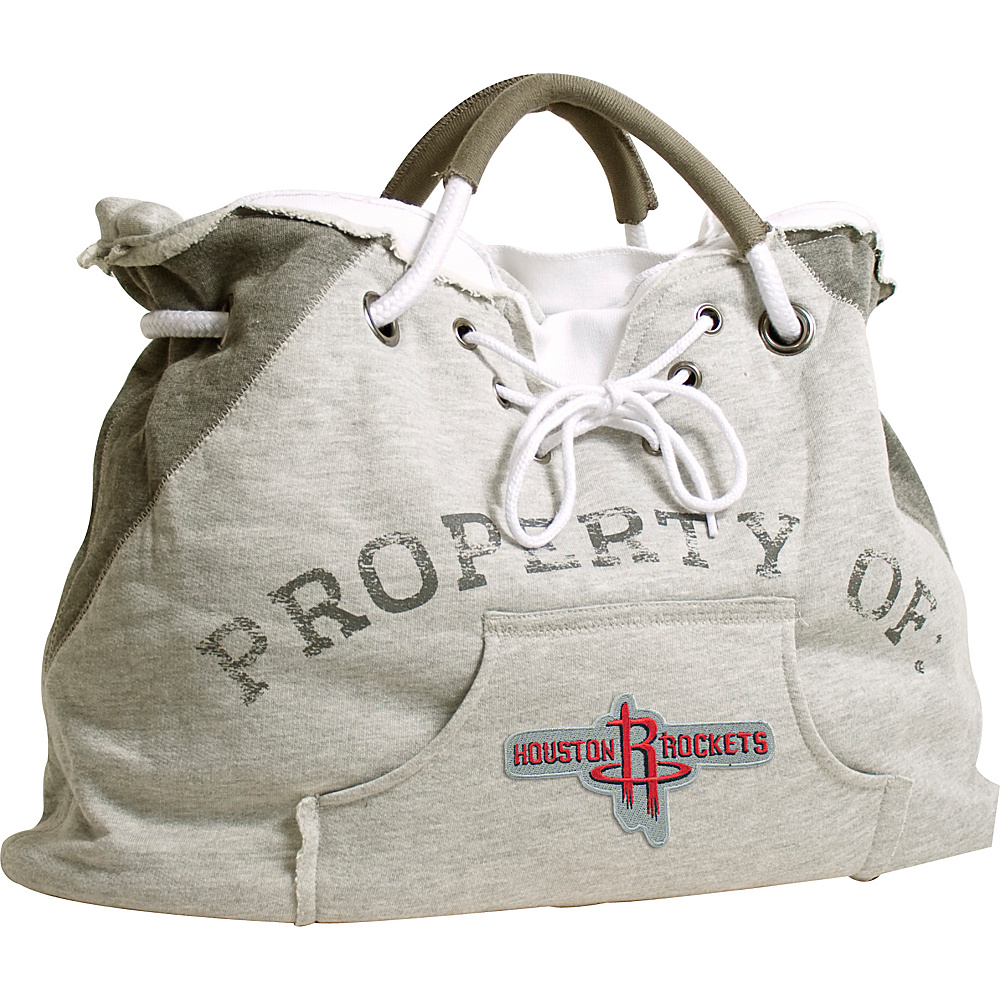 Littlearth Hoodie Tote - NBA Teams Houston Rockets - Littlearth Fabric Handbags - Handbags, Fabric Handbags