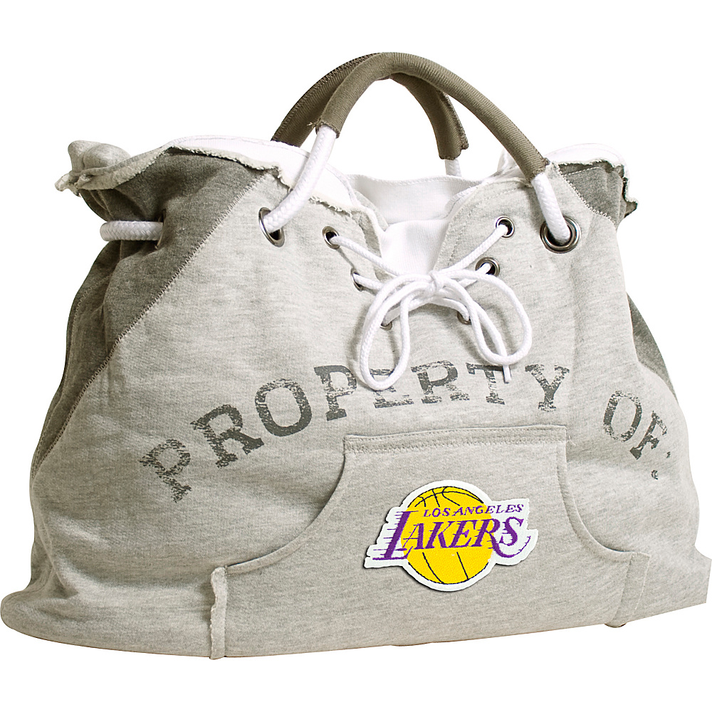 Littlearth Hoodie Tote - NBA Teams Los Angeles Lakers - Littlearth Fabric Handbags - Handbags, Fabric Handbags
