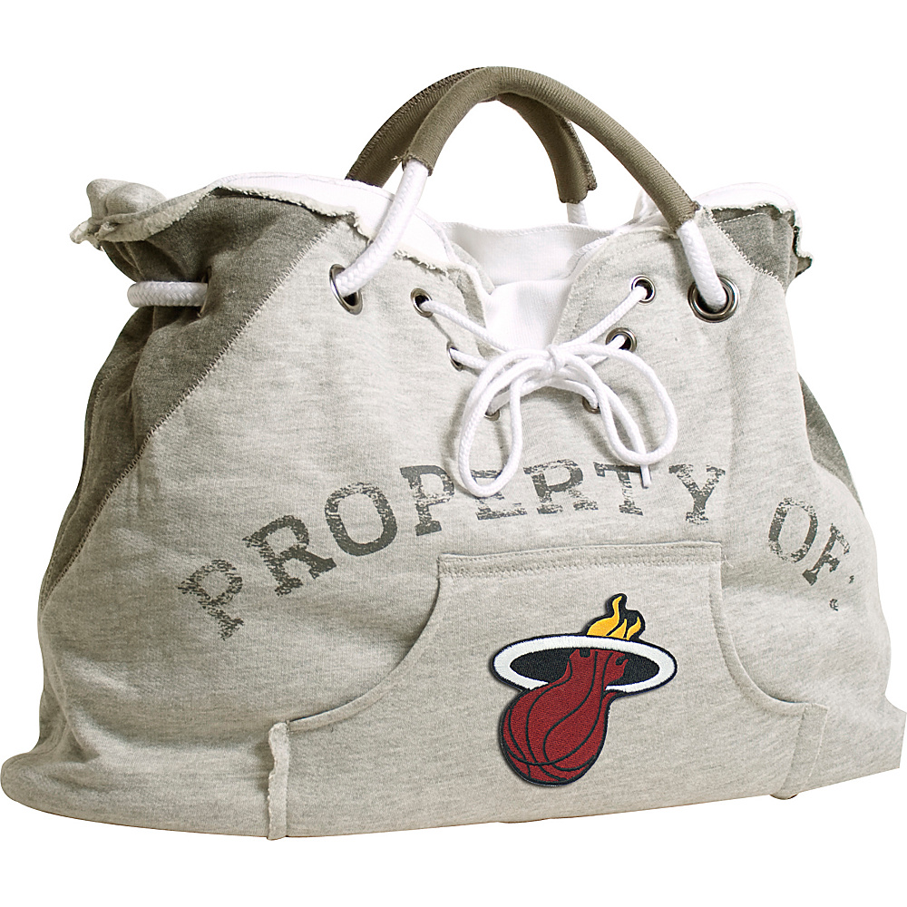Littlearth Hoodie Tote - NBA Teams Miami Heat - Littlearth Fabric Handbags - Handbags, Fabric Handbags