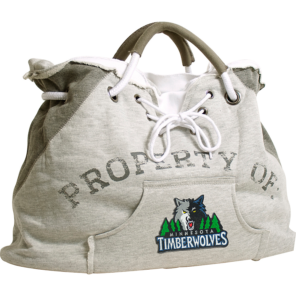 Littlearth Hoodie Tote - NBA Teams Minnesota Timberwolves - Littlearth Fabric Handbags - Handbags, Fabric Handbags