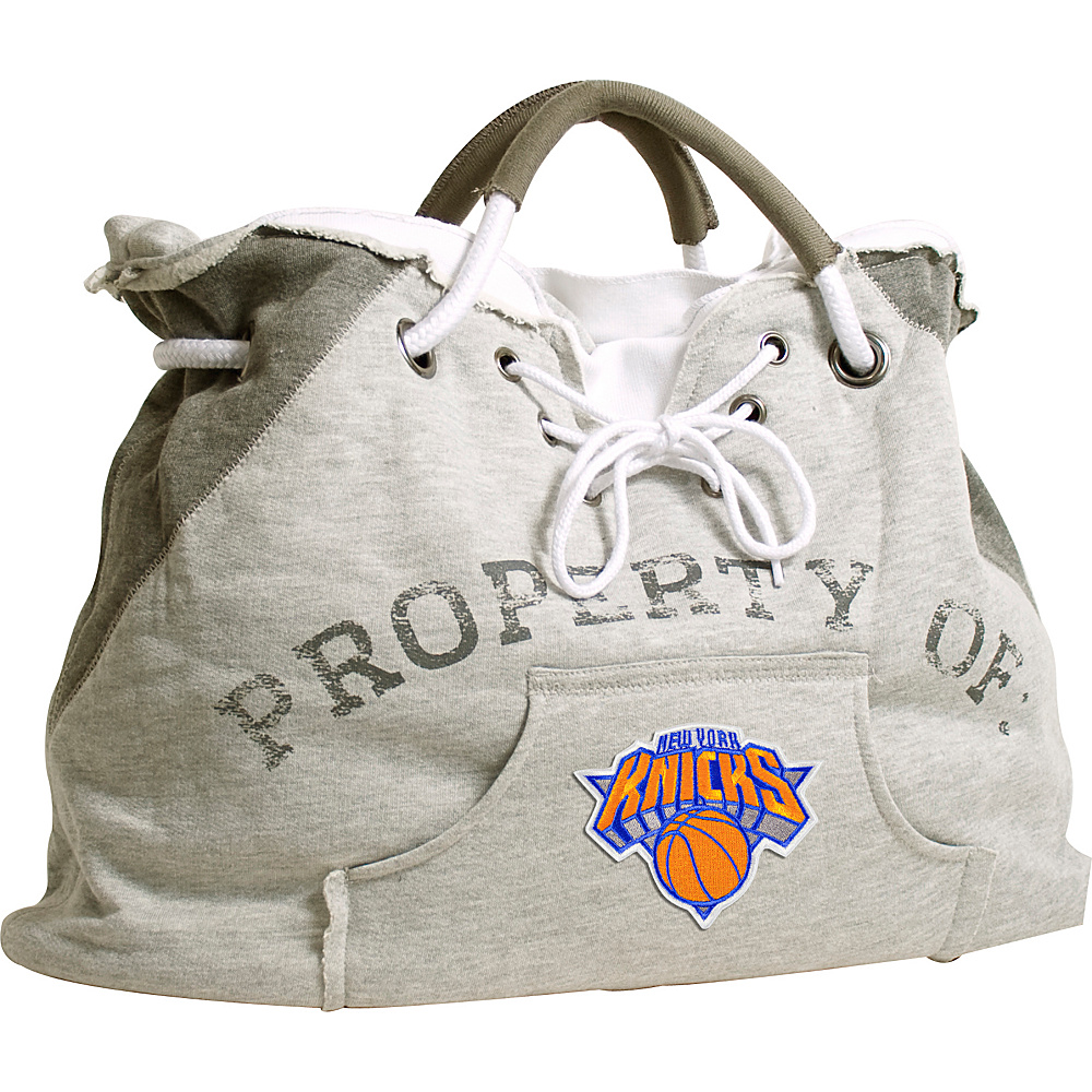 Littlearth Hoodie Tote - NBA Teams New York Knicks - Littlearth Fabric Handbags - Handbags, Fabric Handbags