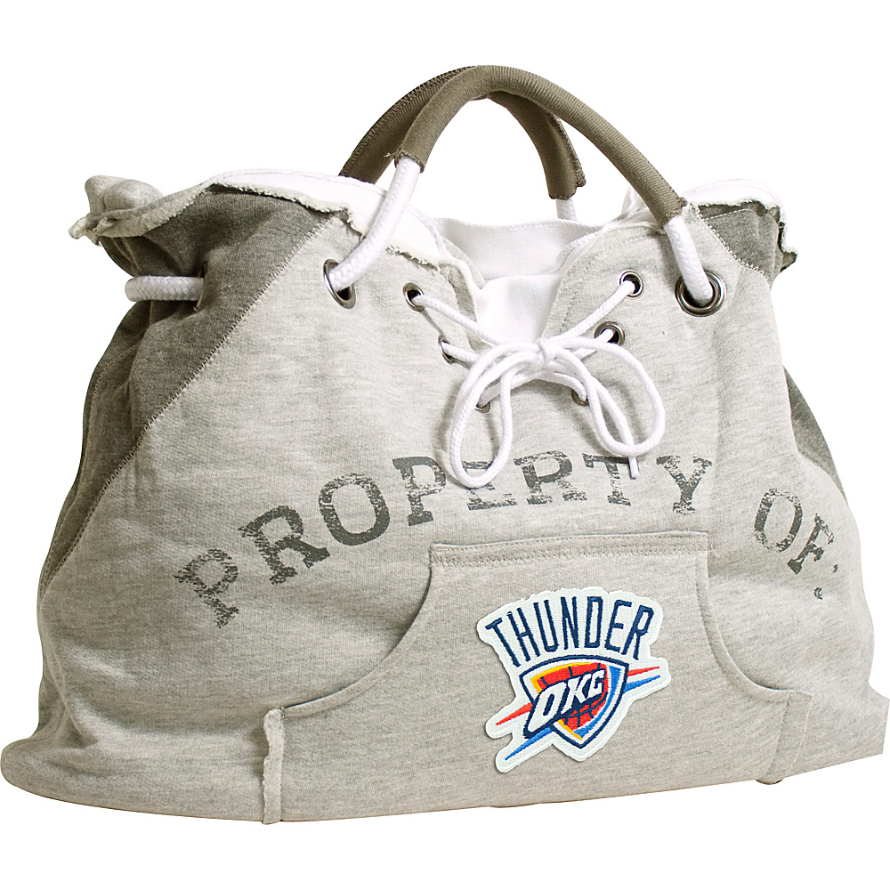 Littlearth Hoodie Tote - NBA Teams Oklahoma City Thunder - Littlearth Fabric Handbags - Handbags, Fabric Handbags