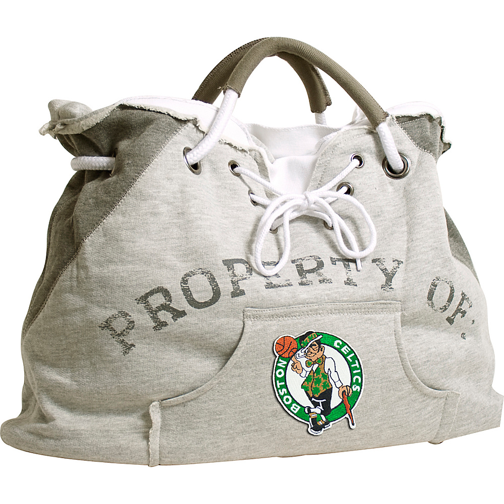 Littlearth Hoodie Tote - NBA Teams Boston Celtics - Littlearth Fabric Handbags - Handbags, Fabric Handbags