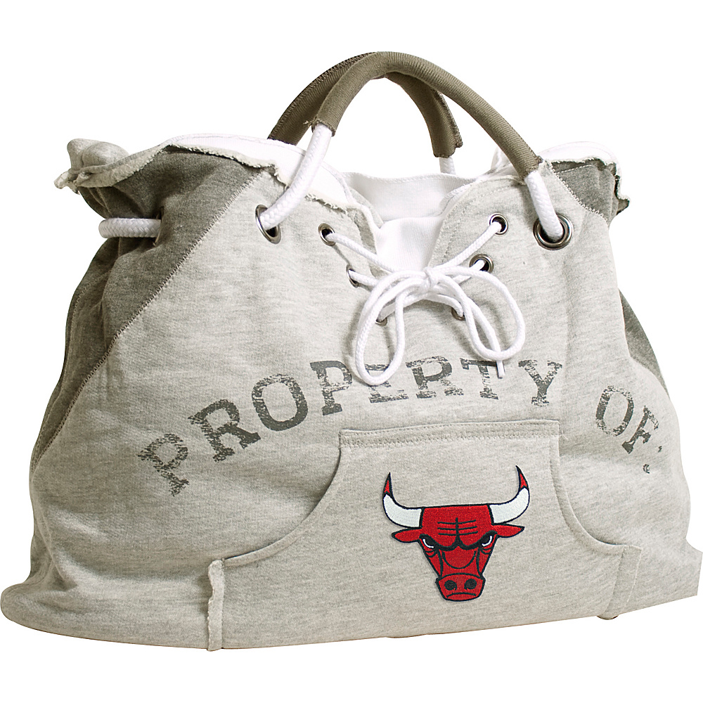 Littlearth Hoodie Tote - NBA Teams Chicago Bulls - Littlearth Fabric Handbags - Handbags, Fabric Handbags