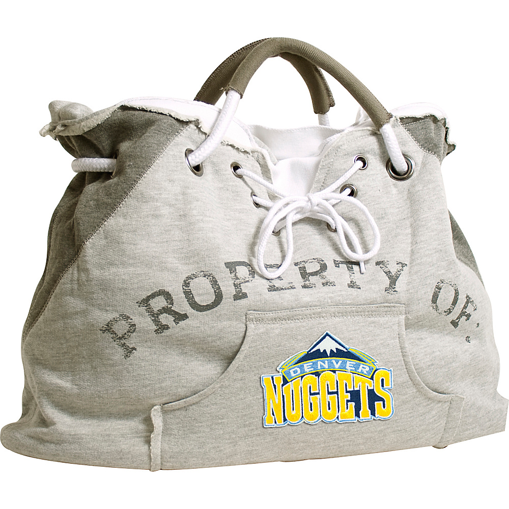 Littlearth Hoodie Tote - NBA Teams Denver Nuggets - Littlearth Fabric Handbags - Handbags, Fabric Handbags