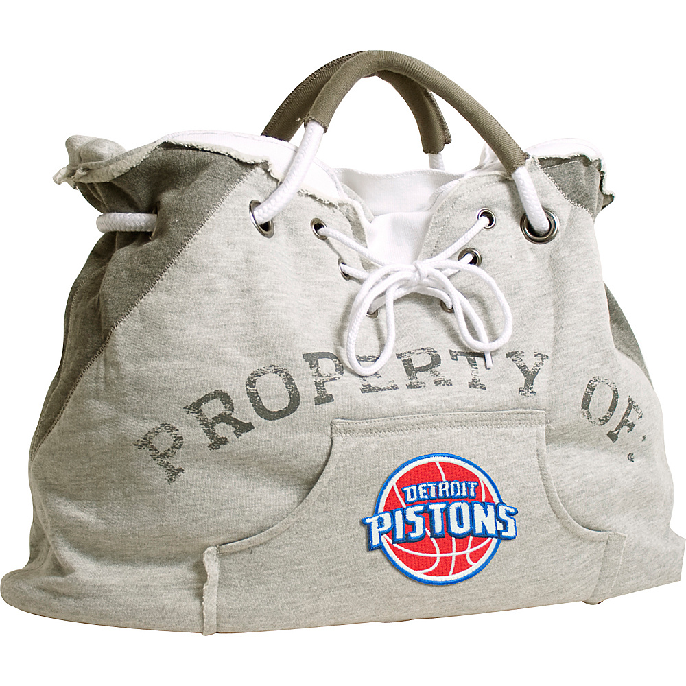 Littlearth Hoodie Tote - NBA Teams Detroit Pistons - Littlearth Fabric Handbags - Handbags, Fabric Handbags