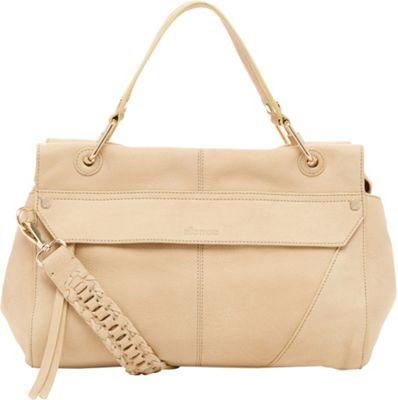Ella Moss Skylar Satchel Cream - Ella Moss Designer Handbags