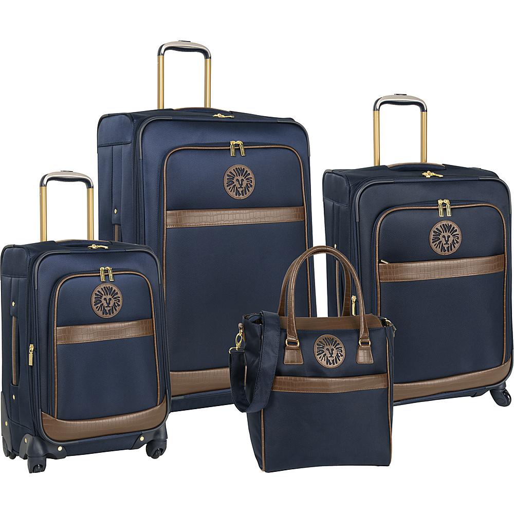 Anne Klein Luggage Newport 4 Piece Set Navy - Anne Klein Luggage Luggage Sets