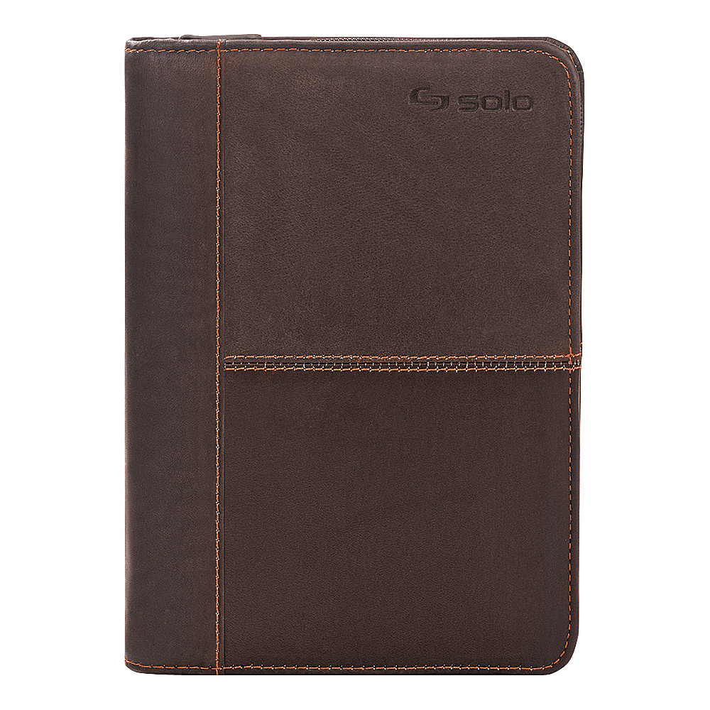 SOLO Premiere Leather Universal Tablet Case 5.5 up to 8.5 Espresso SOLO Electronic Cases