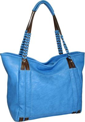 Punto Uno Whip it Tote Denim - Punto Uno Manmade Handbags