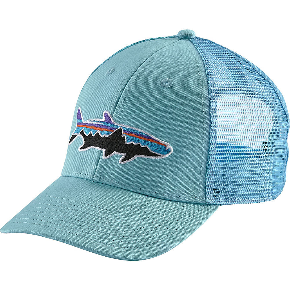 Patagonia Fitz Roy Tarpon LoPro Trucker Hat One Size - Cuban Blue - Patagonia Hats/Gloves/Scarves - Fashion Accessories, Hats/Gloves/Scarves
