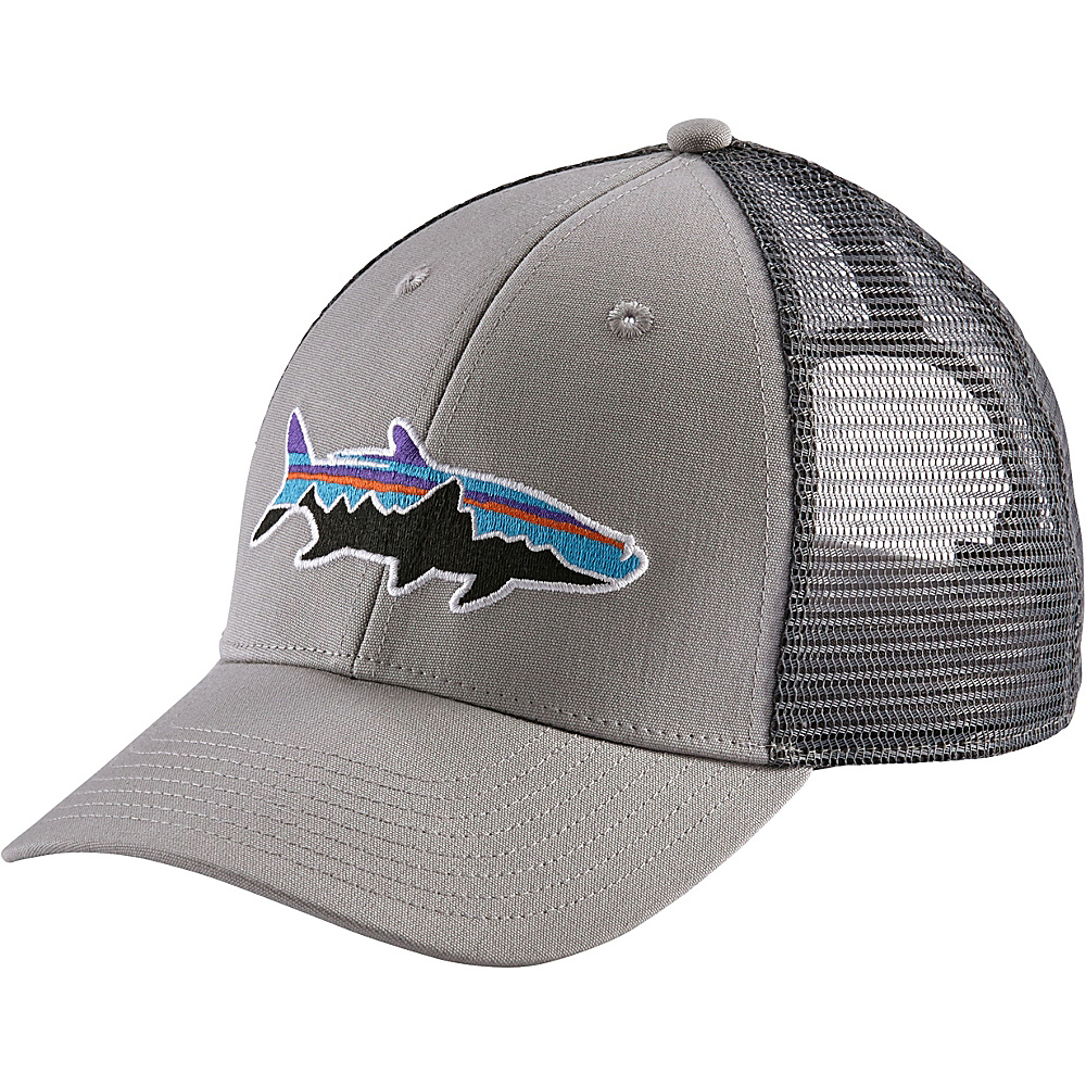 Patagonia Fitz Roy Tarpon LoPro Trucker Hat One Size - Drifter Grey w/Forge Grey - Patagonia Hats/Gloves/Scarves - Fashion Accessories, Hats/Gloves/Scarves