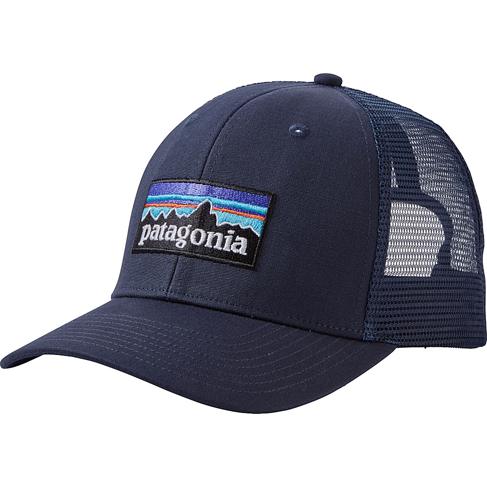 Patagonia P6 Trucker Hat One Size - Navy Blue w/Navy Blue - Patagonia Hats/Gloves/Scarves - Fashion Accessories, Hats/Gloves/Scarves