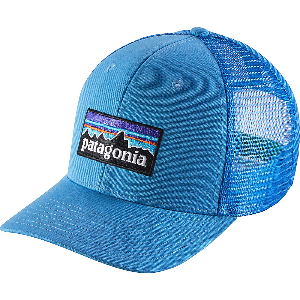 Patagonia P6 Trucker Hat One Size - Radar Blue - Patagonia Hats/Gloves/Scarves - Fashion Accessories, Hats/Gloves/Scarves