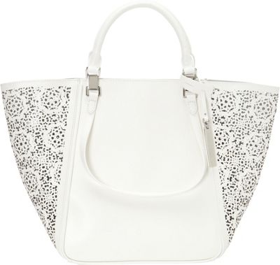 Vince Camuto Tylee Tote Snow White 2 Maizy - Vince Camuto Designer Handbags