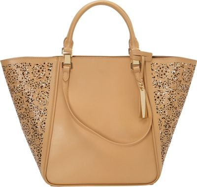 Vince Camuto Tylee Tote Oak Maizy - Vince Camuto Designer Handbags