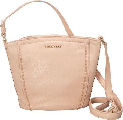 Cole Haan Nickson Top Zip Crossbody Canyon Rose - Cole Haan Designer Handbags