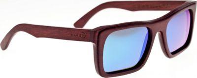 Earth Wood Ona Sunglasses Red Rosewood - Earth Wood Sunglasses