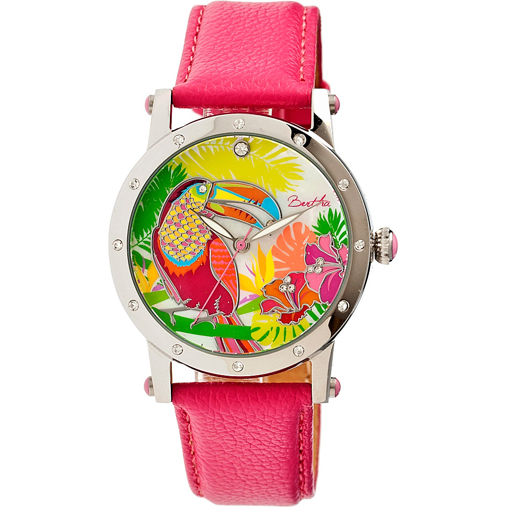 Bertha Watches Gisele Watch Hot Pink Bertha Watches Watches