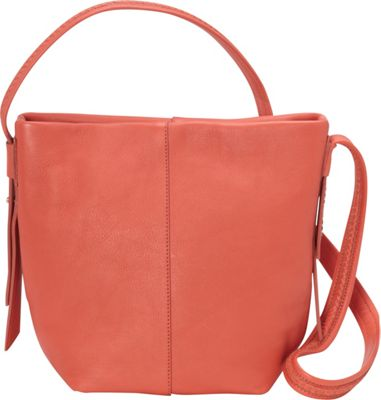 Cole Haan Lockhart Medium Crossbody Coral Flame - Cole Haan Designer Handbags