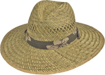Gold Coast Rush Trim Lifeguard Hat One Size - Natural - Gold Coast Hats/Gloves/Scarves