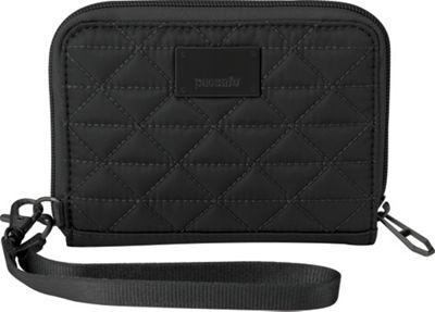 Pacsafe RFIDsafe W100 Black - Pacsafe Women's Wallets