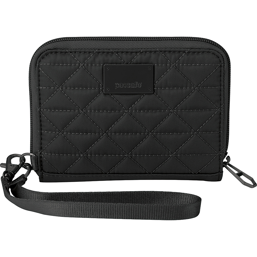 Pacsafe RFIDsafe W100 Black Pacsafe Women s Wallets