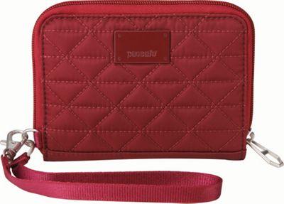 Pacsafe RFIDsafe W100 Cranberry - Pacsafe Women's Wallets