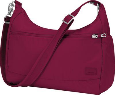 Pacsafe Citysafe CS200 Cranberry - Pacsafe Fabric Handbags