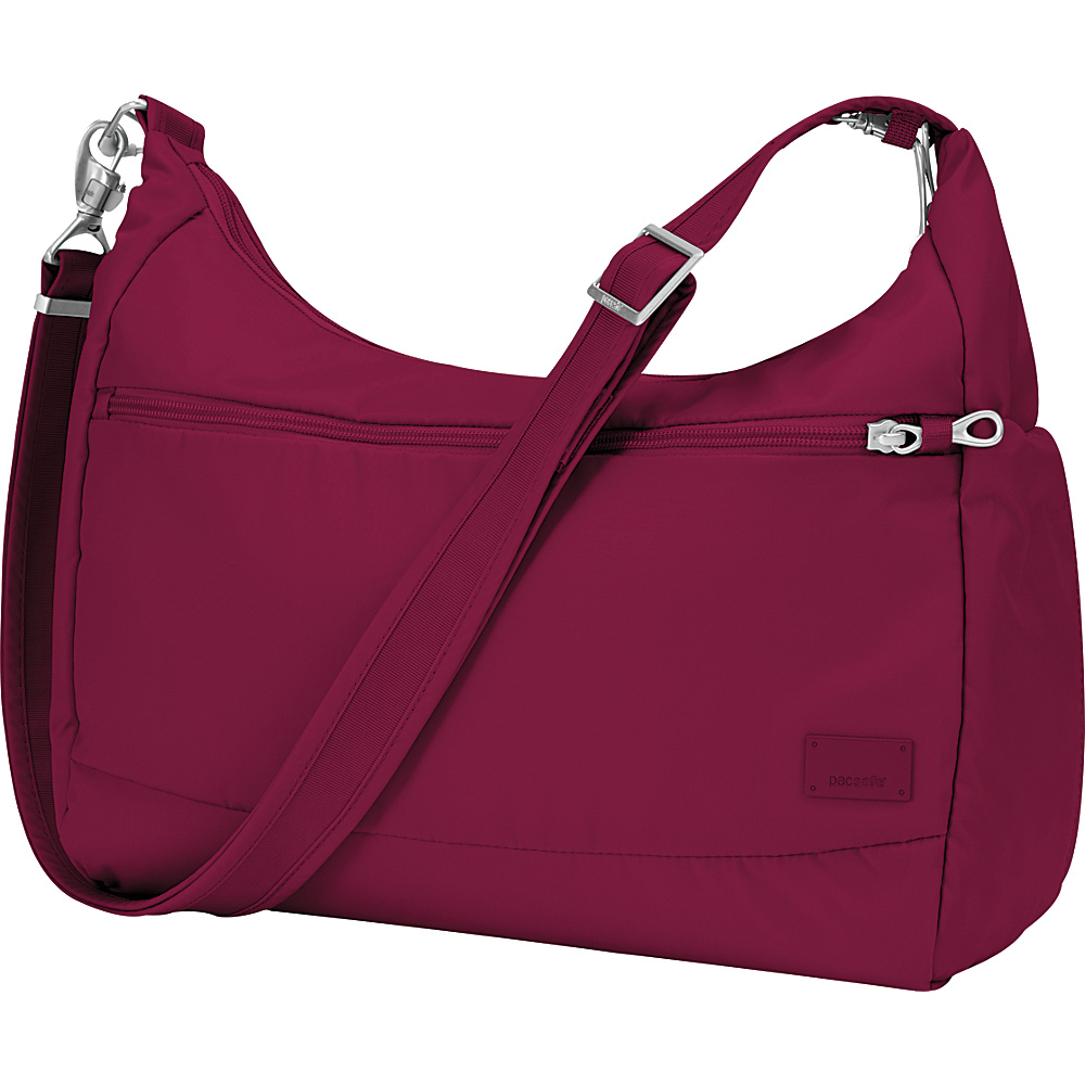 Pacsafe Citysafe CS200 Cranberry Pacsafe Fabric Handbags