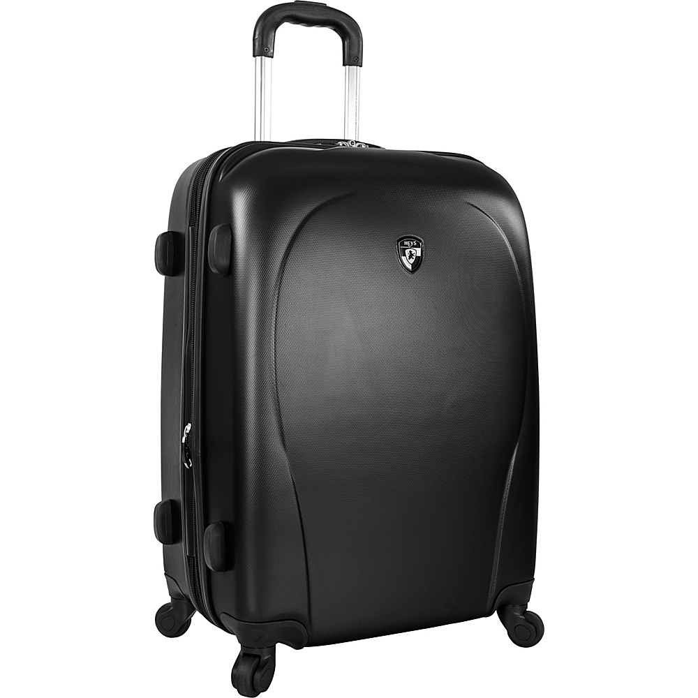 Heys America xCase 26 Spinner Luggage Black Heys America Hardside Checked