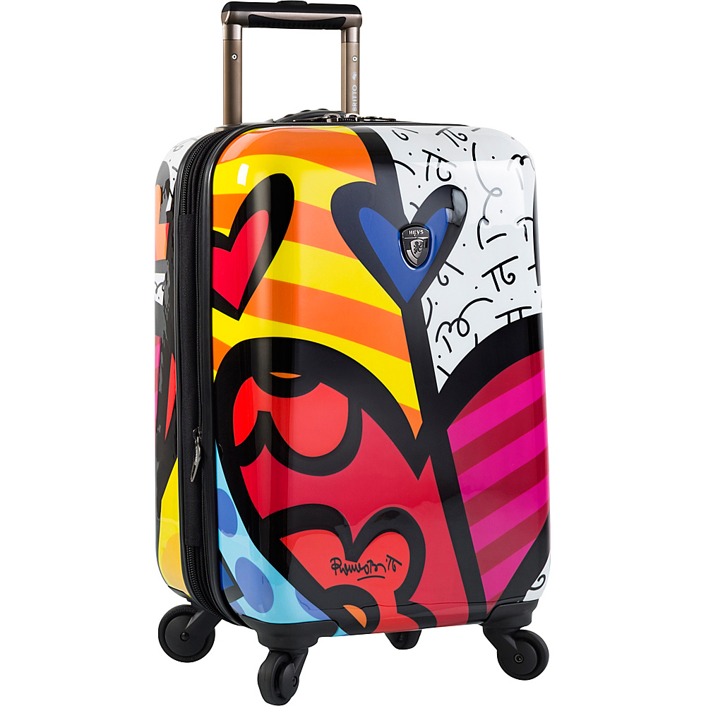 Heys America Britto A New Day 21 Carry On Spinner Luggage Multi Britto A New Day Heys America Hardside Carry On