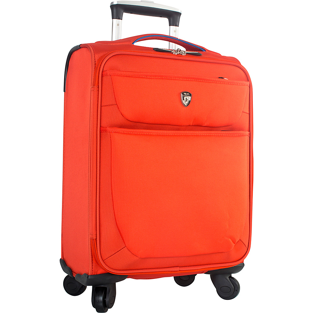Heys America Argus 21 Carry On Spinner Orange Heys America Softside Carry On