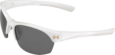 Under Armour Eyewear Marbella Sunglasses Satin Pearl/Gray Multiflection - Under Armour Eyewear Sunglasses