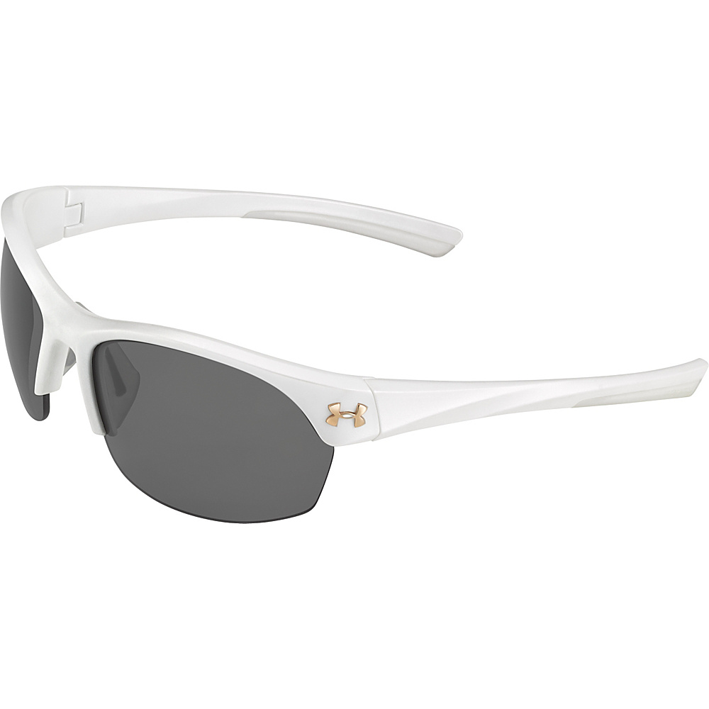 Under Armour Eyewear Marbella Sunglasses Satin Pearl Gray Multiflection Under Armour Eyewear Sunglasses