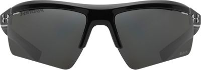 Under Armour Eyewear Core 2.0 Storm Sunglasses Shiny Black/Gray Storm ANSI Polarized - Under Armour Eyewear Sunglasses 10352255