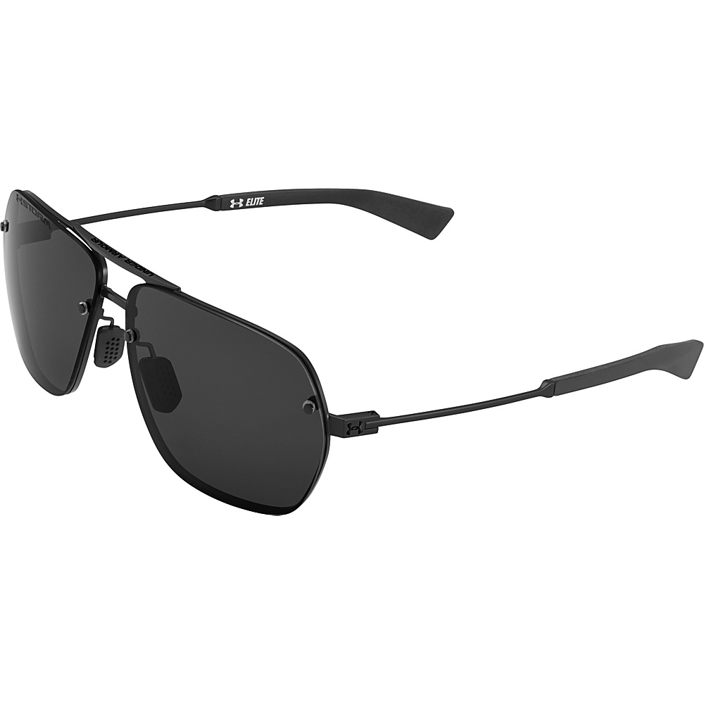 Under Armour Eyewear Hi Roll Storm Sunglasses Satin Black Gray Storm Polarized Under Armour Eyewear Sunglasses