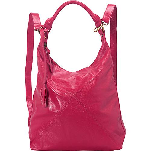 Latico Leathers Ryan Backpack Handbag Fuchsia - Latico Leathers Leather Handbags