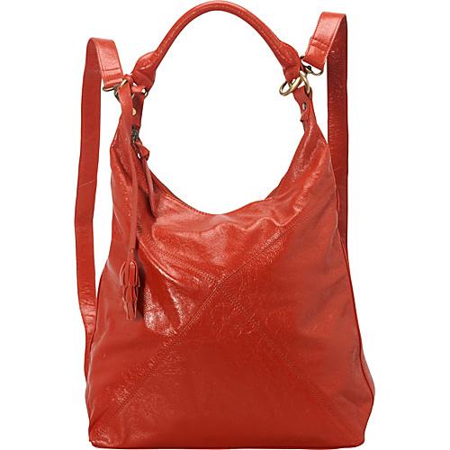 Latico Leathers Ryan Backpack Handbag Poppy - Latico Leathers Leather Handbags
