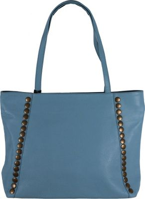 Latico Leathers Bowie Tote Ocean - Latico Leathers Leather Handbags