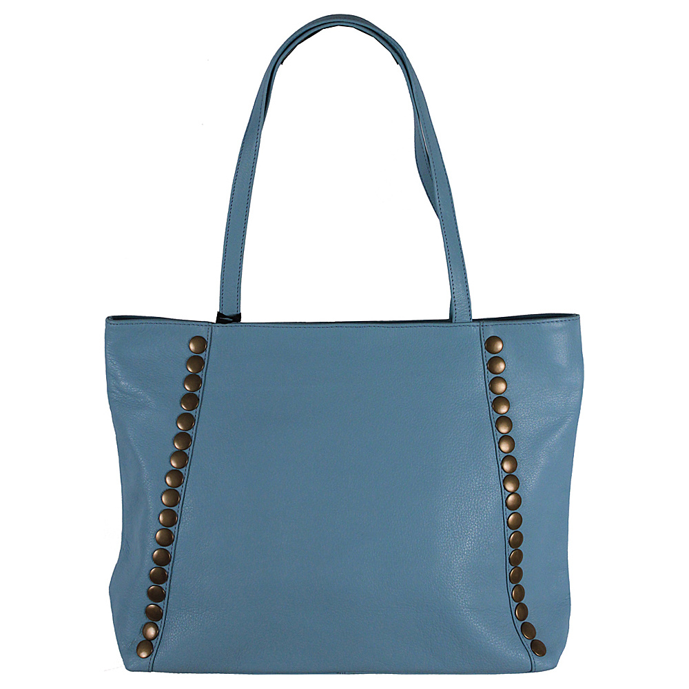 Latico Leathers Bowie Tote Ocean - Latico Leathers Leather Handbags - Handbags, Leather Handbags