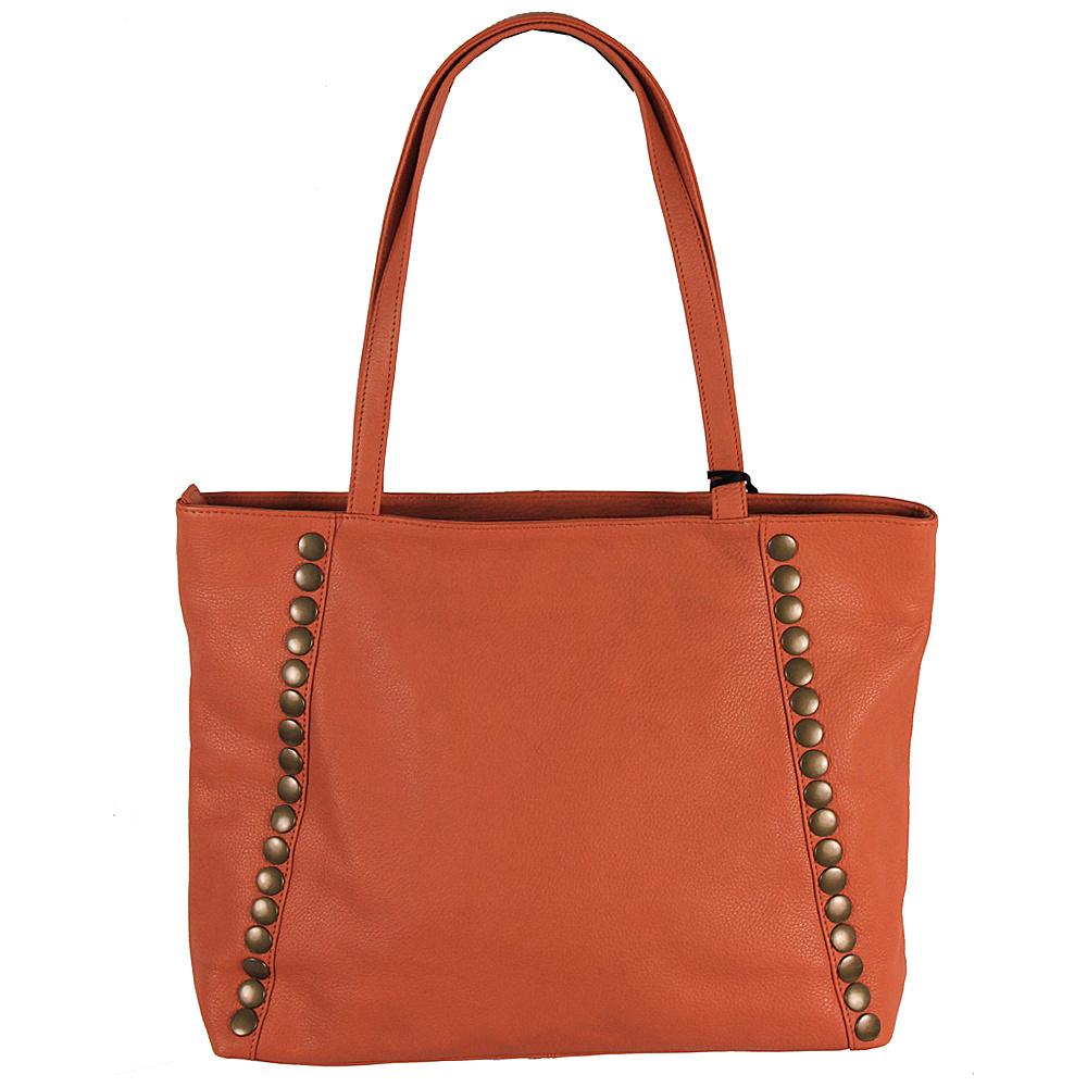 Latico Leathers Bowie Tote Orange - Latico Leathers Leather Handbags - Handbags, Leather Handbags