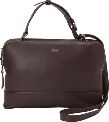 KNOMO London Davies Crossbody Tablet Bag Espresso - KNOMO London Electronic Cases