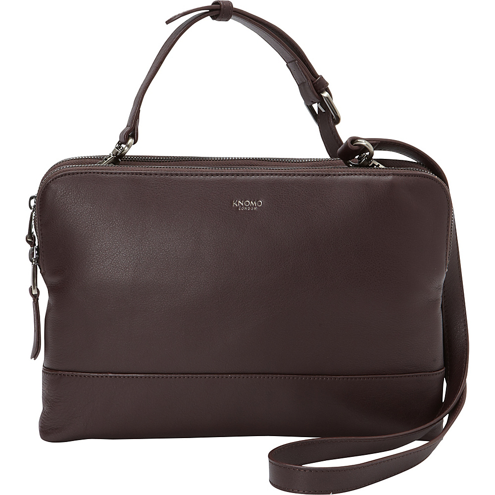 KNOMO London Davies Crossbody Tablet Bag Espresso KNOMO London Electronic Cases