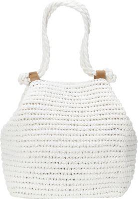 White Straw Shoulder Bag 93